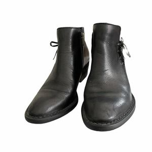 Born Hand Crafted Footwear black Booties